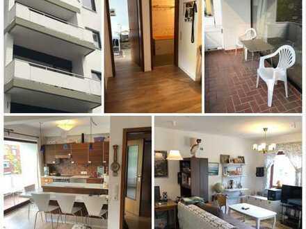 ***KAISERVIERTEL - Wohnung mit Balkon, neuen Böden, frisch Tapeziert, EBK, Garage, Dusche & Wanne***
