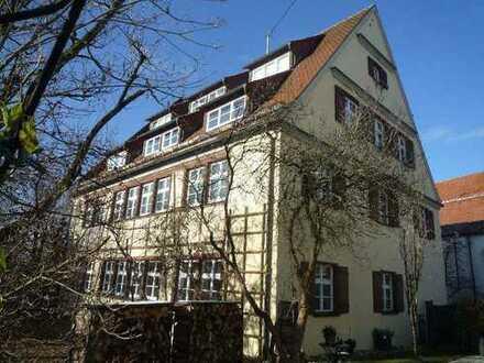 Neuer Wohnraum in historischen Mauern