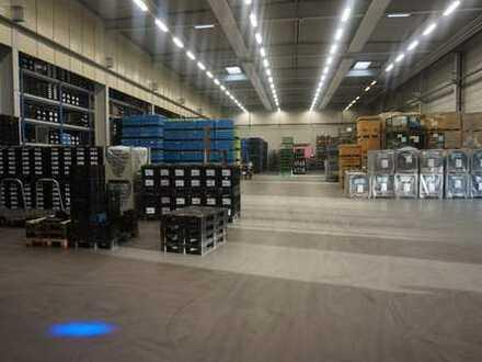 Neuwertige Logistik-/Lagerhalle mit Büro, 1.000 qm bis 3.500 qm, bei Bühl/Baden, an der B3 neu