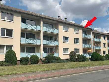 Drei-Zimmerwohnung mit Balkon, optional mit Garage