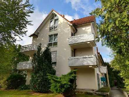 EBK, Balkon & TG // Single-Wohnung in Weißig