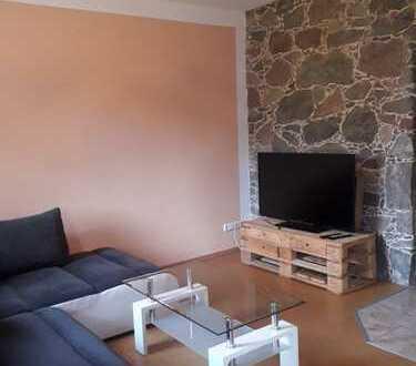 Teilmöblierte 2-Zimmer-Wohnung mit Garten und Einbauküche in Reichenwalde OT Dahmsdorf