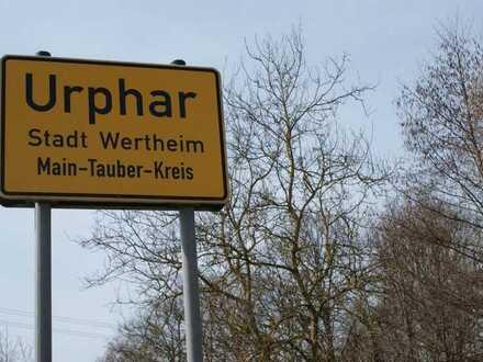 Wohnbauplatz Wertheim-Urphar kurzfristig bebaubar