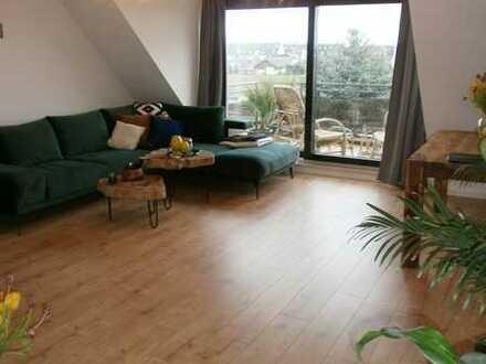 Düsseldorf-Hamm: Lichtdurchflutete  3-Zimmerwohnung mit großem Balkon und Fernblick!