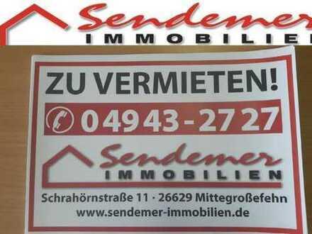 Singlewohnung im Obergeschoss ab 01.11.2019 frei in Aurich-Walle