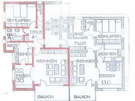 Emmendingen 2 1/2 - Zimmer Wohnung in Top Stadtlage