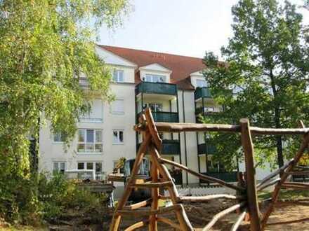 3-Zimmer-DG-Wohnung - in ruhiger, grüner Lage in Laubegast zu verkaufen