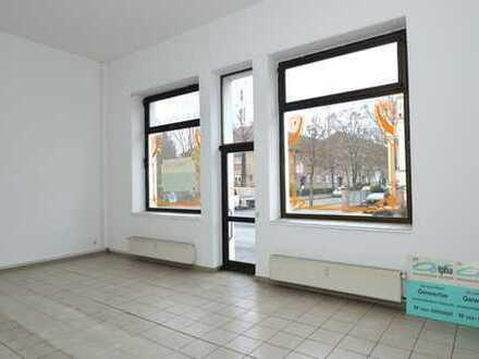 Ladengeschäft & 35qm Büro mit großer Schaufensterfläche in Potsdam West