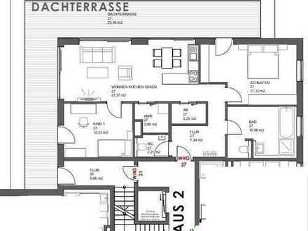 Großzügige Dachterrassen Wohnung in Schrobenhausen