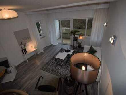 -Reserviert-Schöne Maisonette Wohnung mit Balkon und Dachterrasse in 64297 Darmstadt-Eberstadt