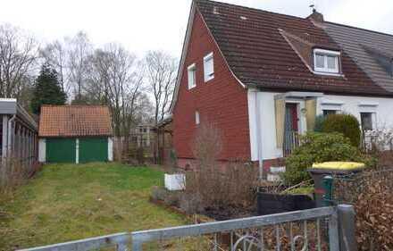 Doppelhaushälfte mit großem Garten -Erbbaurechtsgrundstück -