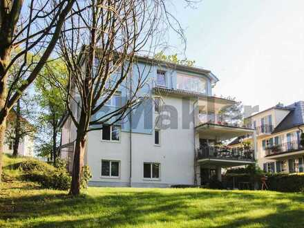 Einzigartige Aussicht: Vermietete 3-Zi.-Maisonettewohnung in Dresden-Loschwitz