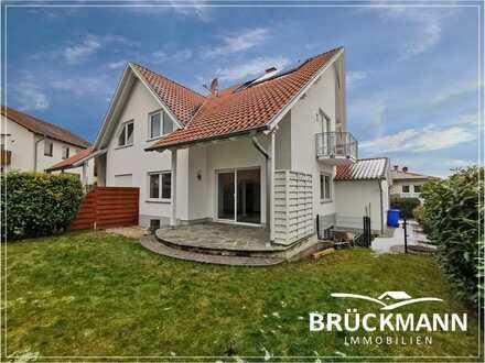 Moderne und großflächige Doppelhaus-Hälfte auf 4 Etagen mit Garten und Garage