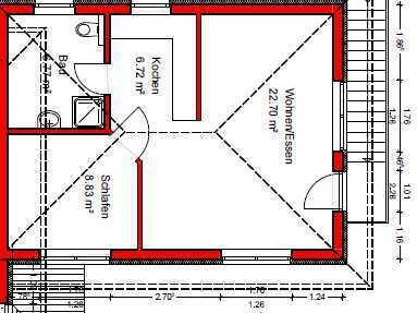 Stilvolle, neuwertige 2-Zimmer-Wohnung in 85456 Pesenlern / Wartenberg (ruhige Lage)