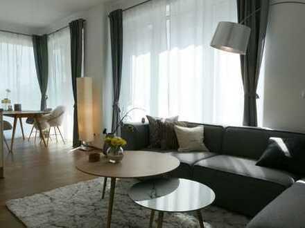 Wohnen in der Hafencity - helle 2 Zimmer mit Einbauküche und Terrasse