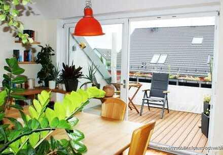 Schicke Dachgeschosswohnung für die kleine Familie am westlichen Stadtrand von München zu verkaufen!