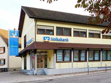 Ehemaliges Volksbankgebäude steht ab sofort zum vermieten