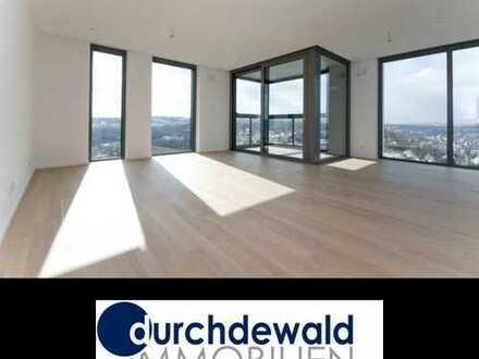 Moderne 3-Zimmer-Neubau-Wohnung im höchsten Wohnhaus Stuttgarts