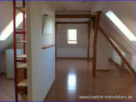Großzügige individuelle geschnittene Dachgeschoss-Wohnung - frei ab sofort