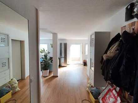 Loftartige 2,5-Zimmer-Suiterrain Wohnung mit Garten in Worms-Herrnsheim + E-Auto Lademöglichkeit