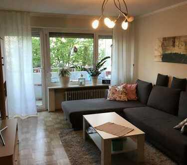Exklusive, gepflegte 3,5-Zimmer-Wohnung mit Balkon in Olching
