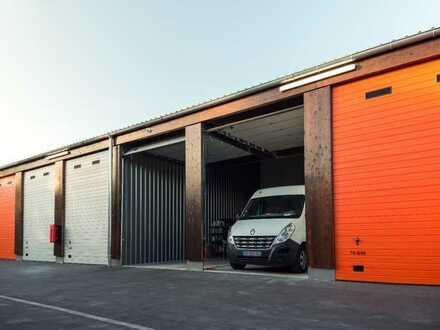 Jetzt 200€ sparen! 28-112m² Garagen, Lager & Hallen mit Strom mieten   Jederzeit kündbar