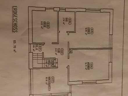 Gepflegte 3-Zimmer-Wohnung mit großem Garten