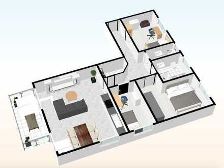 Whg. - 07 - im DG mit 98,27 m²