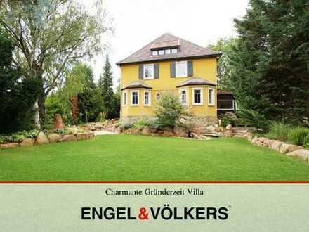 Charmante Gründerzeit Villa