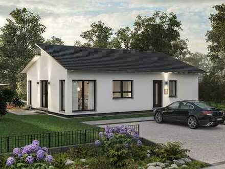 Moderner Bungalow mit Pultdach und tollem Grundriss