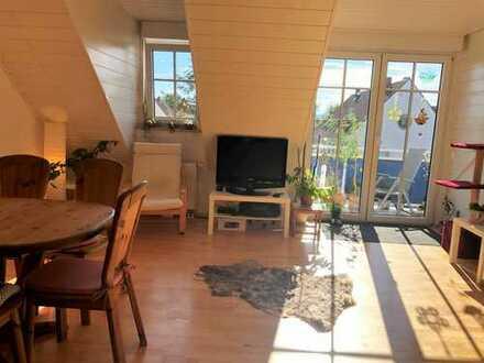 Kandel: 2 ZKB DG Wohnung mit Balkon, zentrale Lage