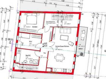 Luxus Maisonette Wohnung im zwei familie haus mit vier Zimmern sowie Balkon, Carport und EBK