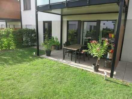 2-Zimmer-Gartenwohnung mit Einbauküche und Tiefgaragenplatz im Edelsteinviertel