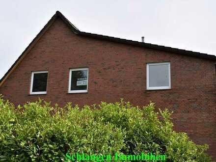 Objekt Nr. 00/651 Renovierte Oberwohnung mit Gartenbereich in Saterland / OT Sedelsberg