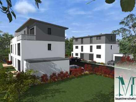 Attraktive Rohbau-Doppelhaushälfte in moderner Architektur - Nr. 5a