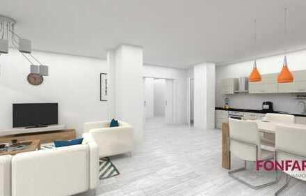 Verwirklichen Sie sich selbst! 4-Zimmer-Wohnung zum Selbstausbau – Top-Lage – mit 2 Stellplätzen