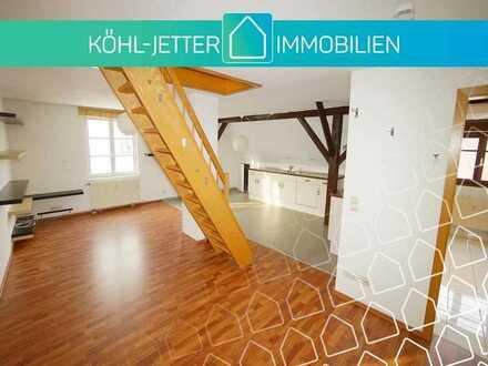 Pfiffige 3 Zi.-Maisonettewohnung mit EBK in zentraler Lage von Balingen!