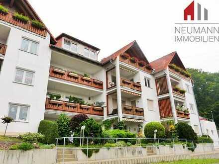 Singleappartement mit Terrasse in Südhanglage am Wartenberg