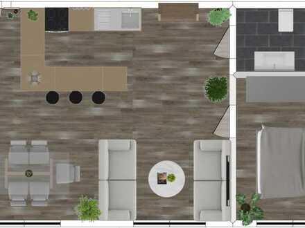Erstbezug nach Sanierung: attraktive 2-Zimmer-Wohnung in Angelbachtal