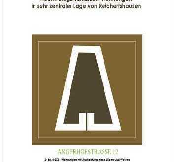 4-ZKB Dachterrassen-Whg. (20 m² Süd-/West-Dachterr.) mit Aufzug, FBH, elektr. Rollläden, Videospr.!