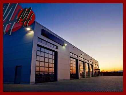 VERKAUF ✓ VIELSEITIG NUTZBAR ✓ 8,00 M HÖHE ✓ Lager-/Werkstatt (4.000 m²) & Büro (1.100 m²)