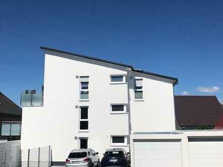Attraktive 3 Zimmer-Wohnung in Eggenstein mit großer Terrasse - Erstbezug