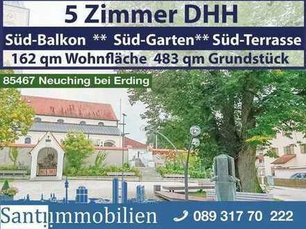 5 Zi DHH mit Süd-Garten in Neuching Lkrs Erding