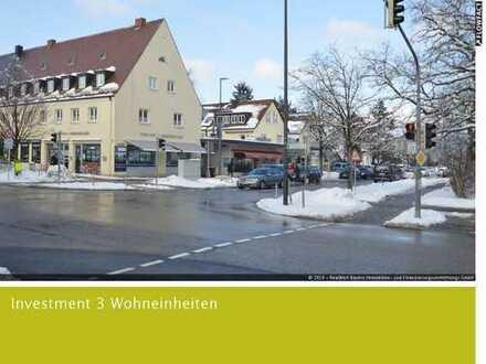 Die Kapitalanlage im Herzen von Gräfelfing - Drei vermietete Wohneinheiten