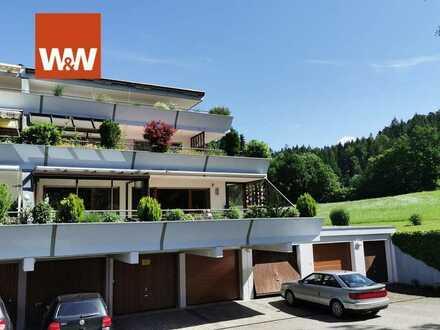 3-Zimmer-Terrassenwohnung  in ruhiger Waldrandlage