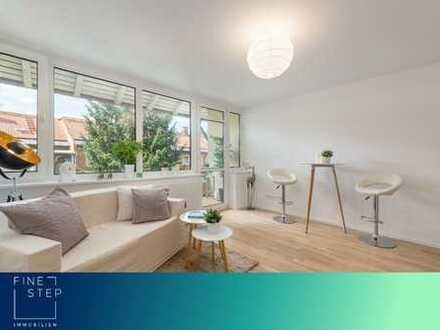 Erstbezug nach Renovierung: Moderne 2-Raum-Wohnung mit Balkon