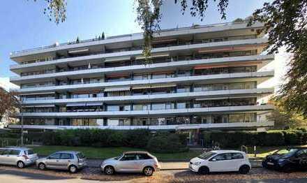 Vermietete 2-Zimmer-Wohnung im 5.OG mit West-Loggia
