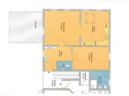 Beste Lage 2,5 Zimmerwohnung mit Terrasse-ideal auch für Kapitalanleger
