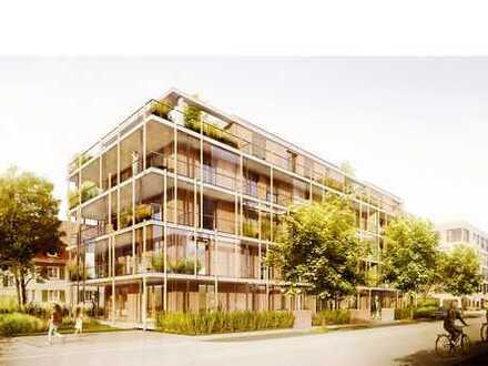 Erstbezug mit EBK und Balkon: stilvolle 2-Zimmer-Niedrigenergie Wohnung in Mannheim