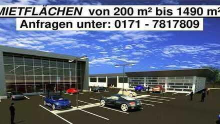 Neubau - Hoch frequentierte, repräsentative Einzelhandels/Gewerbeflächen in Schwabmünchen